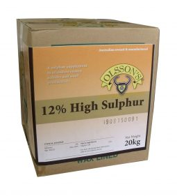 12% High Sulphur Block