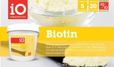 iO Biotin