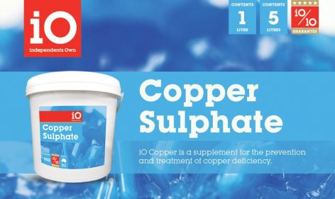 iO Copper Sulphate