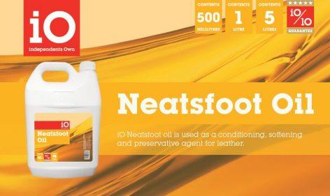 iO Neatsfoot Oil