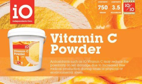 iO Vitamin C Powder