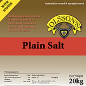 Plain Salt Block