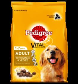 Pedigree Mince and Veg