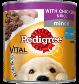 Pedigree Puppy Tins