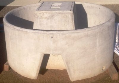 Wild River Concrete Round Trough